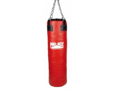 'RED COLLECTION' LEATHER SUPER HEAVY PUNCH BAG 4 FT.