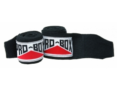 SENIOR AIBA SPEC STRETCH HAND WRAPS BLK