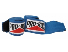 SENIOR AIBA SPEC STRETCH HAND WRAPS BLUE.