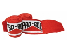 SENIOR AIBA SPEC STRETCH HAND WRAPS RED