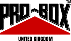 PRO-BOX SENIOR BOXING BOOTS. BLUE-RED
